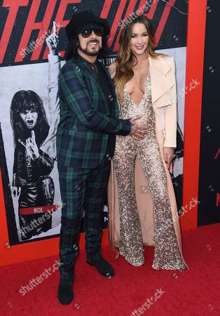 "Nikki Sixx, Courtney Bingham. Nikki Sixx, left, and Courtney Bingham arrive at the world premiere of ""The Dirt"", at ArcLight Hollywood in Los Angeles"