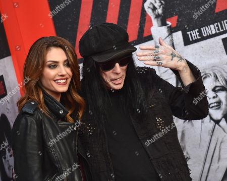 Mick Mars and Seraina Schonenberger