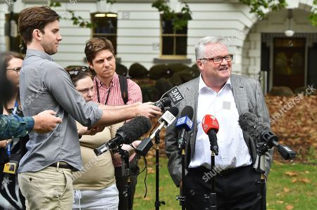 Editorial image of Will Connolly's lawyer speaks to the media in Melbourne, Australia - 19 Mar 2019