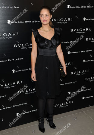 Editorial photo of Vogue and Bulgari Party for Save the Children, Saatchi Gallery, London, Britain - 13 Oct 2009