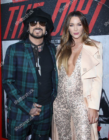 Stock Image of Nikki Sixx, Courtney Bingham