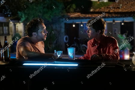 Stock Photo of Dane Cook as Charlie and Levi Miller as Leo