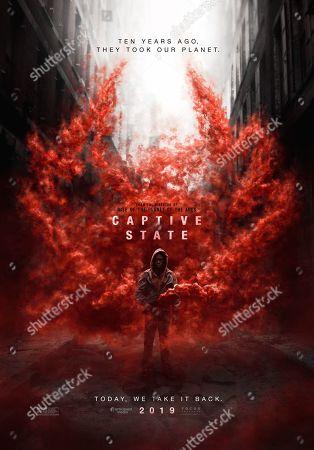 Captive State (2019) Poster Art. Ashton Sanders as Gabriel Drummond