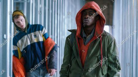 Machine Gun Kelly as Jurgis and Ashton Sanders as Gabriel Drummond