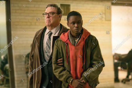 John Goodman as William Mulligan and Ashton Sanders as Gabriel Drummond