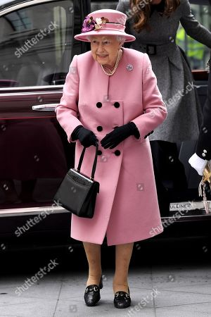Stock Picture of Queen Elizabeth II