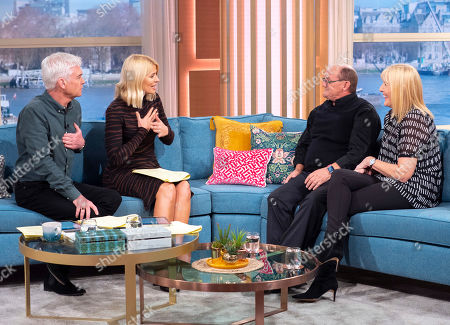 Phillip Schofield, Holly Willoughby, Brendan O'Carroll and Jennifer Gibney