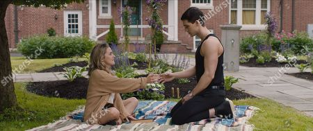 Addison Timlin as Sophie and Steven Strait as Henry