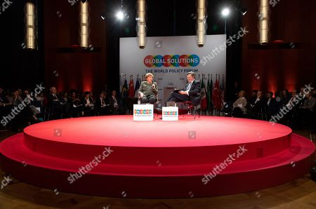 Editorial picture of Global Solutions Summit, Berlin, Germany - 19 Mar 2019