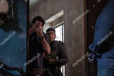 J.C. Chandor Director and Oscar Isaac as Santiago 'Pope' Garcia