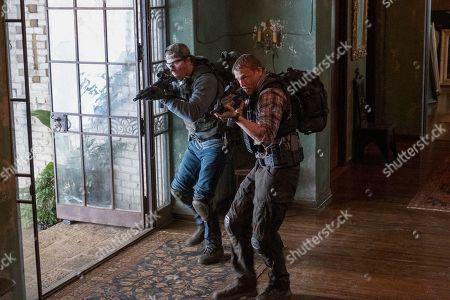 Garrett Hedlund as Ben Miller, Charlie Hunnam as William 'Ironhead' Miller