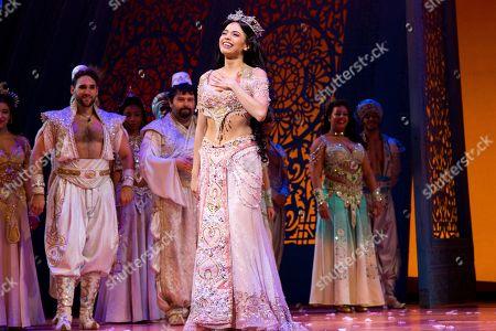 Editorial image of 'Aladdin' musical, New York, America - 21 Feb 2019