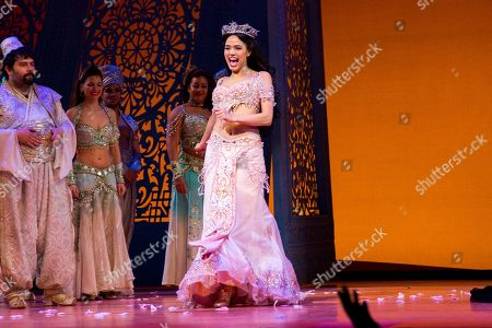 Editorial picture of 'Aladdin' musical, New York, America - 21 Feb 2019
