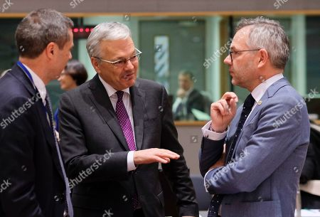 Editorial picture of Article 50 EU general affairs council, Brussels, Belgium - 19 Mar 2019
