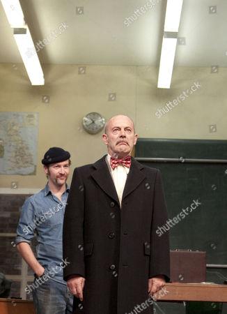 l-r: Billy Carter (George McBrain), Keith Allen (Bert Challoner)