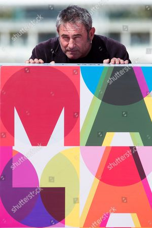 Sergi Lopez poses during the photocall of the movie 'Staff Only', as part of the 22nd Malaga Film Festival, in Malaga, southern Spain, 19 March 2019. The film competes in the official section of the festival, which runs from 15 March to 24 March.