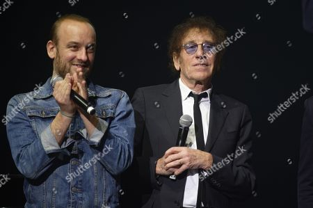 Charles Souchon (dit Ours) and Alain Souchon