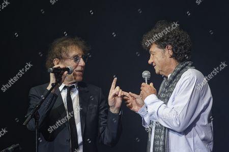 Alain Souchon and Robert Charlebois