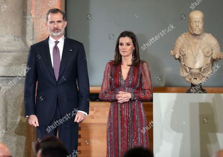 Editorial photo of Spanish royal couple attend National Culture Awards ceremony in Madrid, Spain - 19 Mar 2019