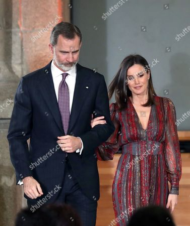Editorial picture of Spanish royal couple attend National Culture Awards ceremony in Madrid, Spain - 19 Mar 2019