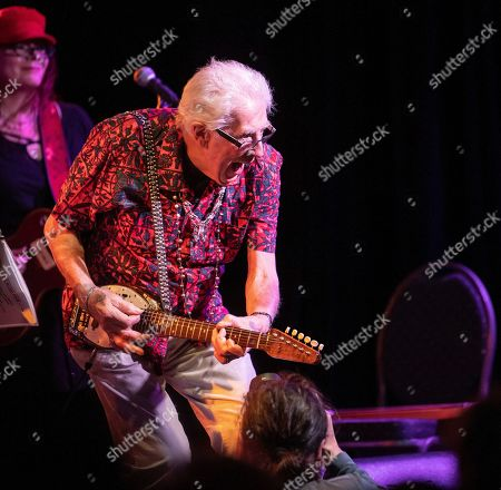 Editorial image of John Mayall performs in Budapest, Hungary - 19 Mar 2019