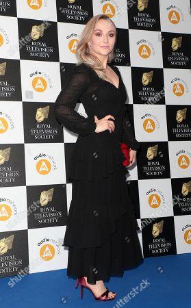Editorial photo of RTS Television Awards, London, UK - 19 Mar 2019