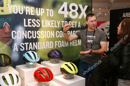 Former pro-cyclist Jens Voigt, who rode for the Trek-Segafredo men's team, shares an up-close look at the groundbreaking new WaveCel helmet technology at an event in New York. WaveCel is a collapsible cellular structure that lines the inside of your helmet and works like a crumple zone that absorbs the force of an impact before it reaches your head