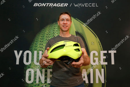 Editorial image of Trek Bicycle WaveCel Launch Event, New York, USA - 19 Mar 2019
