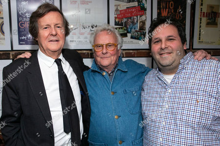 David Hare (Author), Richard Eyre (Director) and David Babani (Artistic Director)