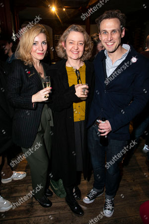 Natalie Walter, Lucy Briers and Martin Hutson (Assistant Curator)