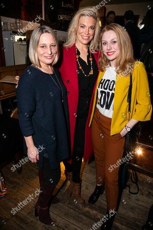 Charlotte Gorton, Hannah Waddingham and Kelly Price