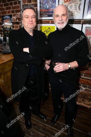 Richard McCabe and David Rintoul (Peter Linitsky)