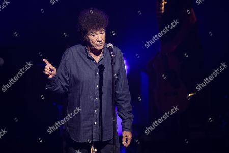 Editorial image of Robert Charlebois in concert, Antibes, France - 19 Mar 2019