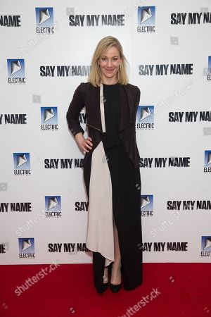 Editorial photo of 'Say My Name' film premiere, Arrivals, London, UK - 19 Mar 2019