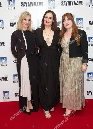Editorial image of 'Say My Name' film premiere, Arrivals, London, UK - 19 Mar 2019