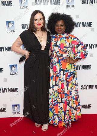 Deborah Frances-White and Susan Wokoma