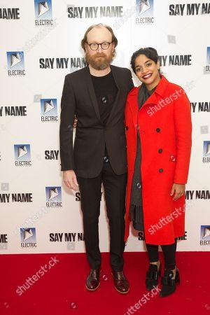 Jamie De Courcey and Amara Karan