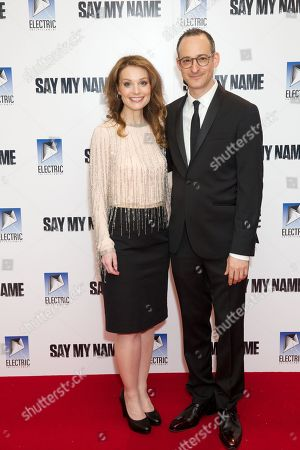Lisa Brenner and Jay Stern