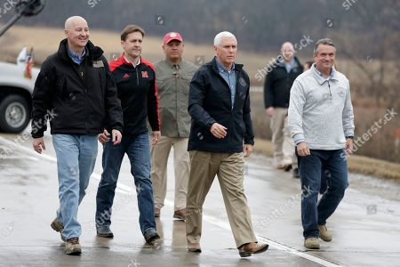 Editorial picture of Pence Floods, Omaha, USA - 19 Mar 2019