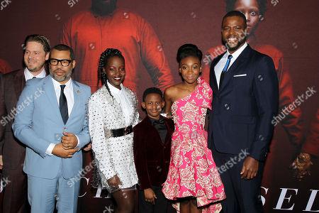Tim Heidecker, Jordan Peele (Director), Lupita Nyong'o, Evan Alex, Shahadi Wright Joseph, Winston Duke
