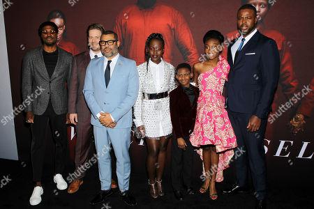 Yahya Abdul-Mateen II, Tim Heidecker, Jordan Peele (Director), Lupita Nyong'o, Evan Alex, Shahadi Wright Joseph, Winston Duke