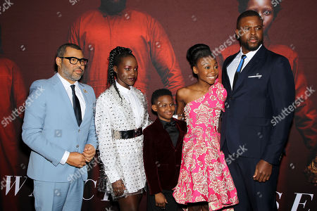 Jordan Peele (Director), Lupita Nyong'o, Evan Alex, Shahadi Wright Joseph, Winston Duke