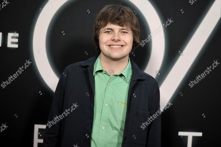 """Brendan Meyer attends the LA premiere of """"The OA"""" Season 2 at the Los Angeles County Museum of Art, in Los Angeles"""