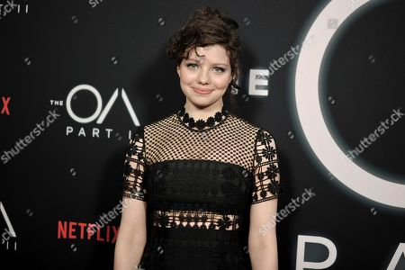"""Chloe Levine attends the LA premiere of """"The OA"""" Season 2 at the Los Angeles County Museum of Art, in Los Angeles"""