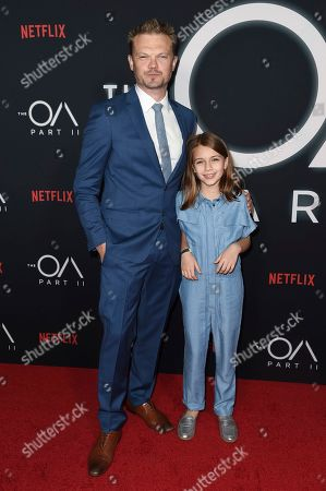 "Stock Picture of Nikolai Nikolaeff, Zoey Todorovsky. Nikolai Nikolaeff and Zoey Todorovsky attend the LA premiere of ""The OA"" Season 2 at the Los Angeles County Museum of Art, in Los Angeles"