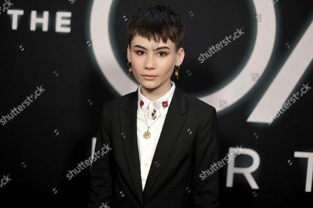 """Ian Alexander attends the LA premiere of """"The OA"""" Season 2 at the Los Angeles County Museum of Art, in Los Angeles"""