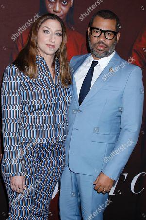 Chelsea Peretti and Jordan Peele