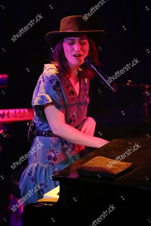 Sara Bareilles performs live at the Troubadour, in West Hollywood, Calif