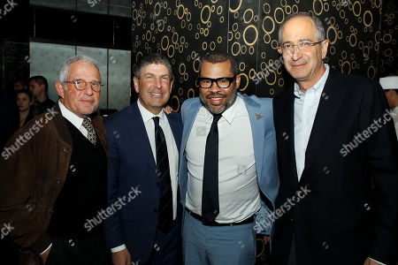 Ron Meyer (Vice Chairman, NBC Universal), Jeff Shell (Chairman, NBC Universal Film & Ent.), Jordan Peele (Director), Brian Roberts (Chairman, Pres. & CEO Comcast)