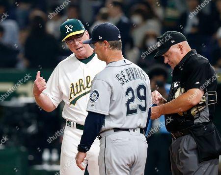 Editorial image of Mariners Athletics Baseball, Tokyo, Japan - 20 Mar 2019